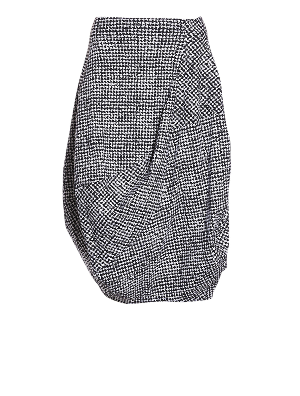 Houndstooth Tulip Skirt