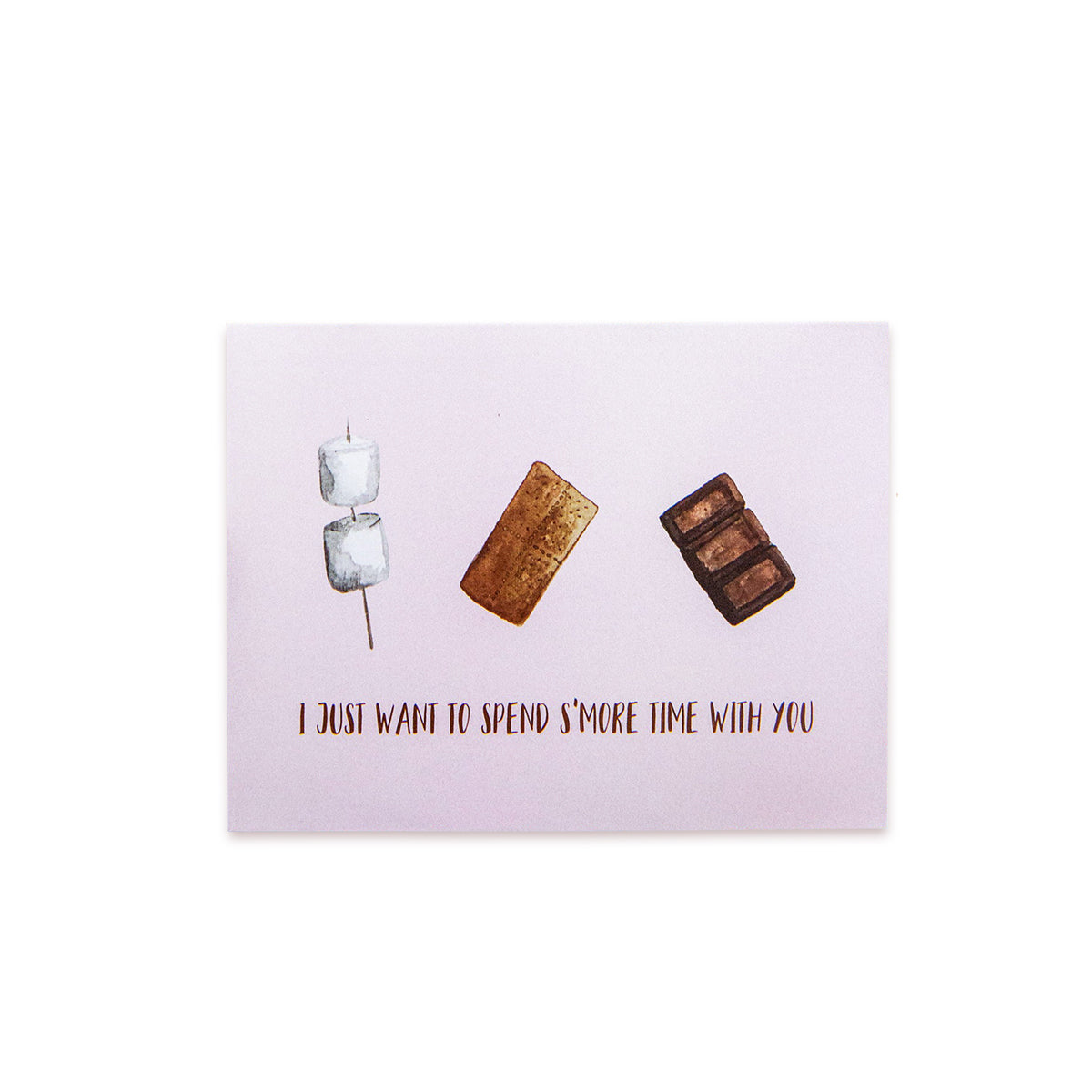 """S'more Time"" Printed Card (5 Pack)"