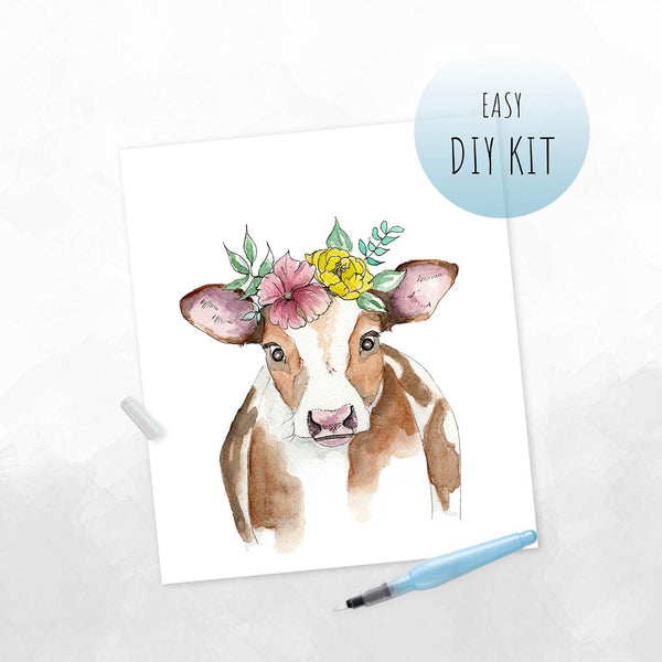 Boho Calf Watercolor Kit
