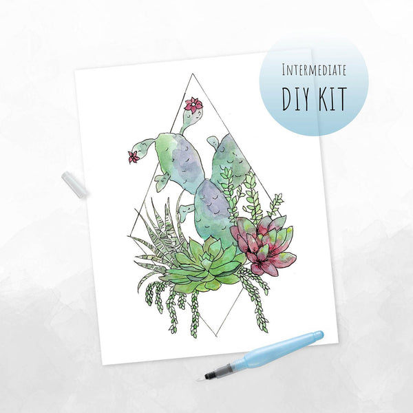 Terrarium Watercolor Kit
