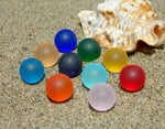 12mm 10 SeaGlass Stones