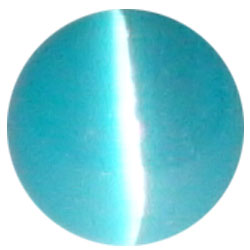 8mm Aqua Cateye