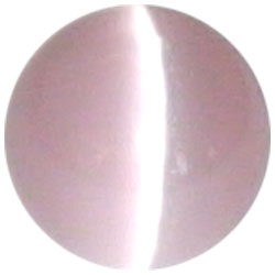12mm Lt. Pink Cateye