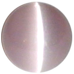 8mm Mauve Cateye