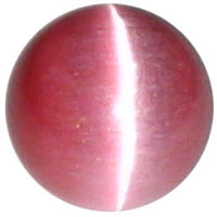8mm Raspberry Cateye