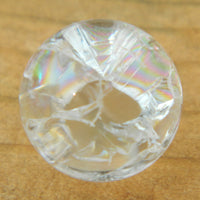16mm Clear Cracked Crystal