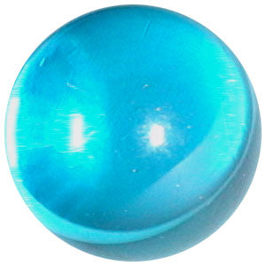 10mm Clear Electric Blue