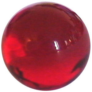 8mm Clear Dark Red