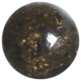 12mm Cracked Dark Smoky Quartz