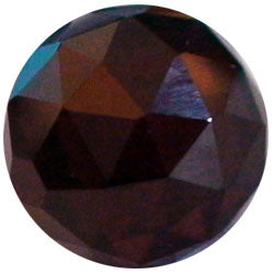 10mm Rhodolite CZ Diamond Cut
