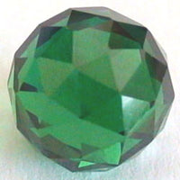 8mm Emerald Green CZ Diamond