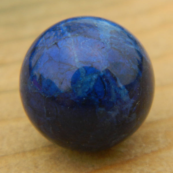 12mm Dark Lapis Howlite