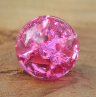 10mm Cracked Royal Fuschia