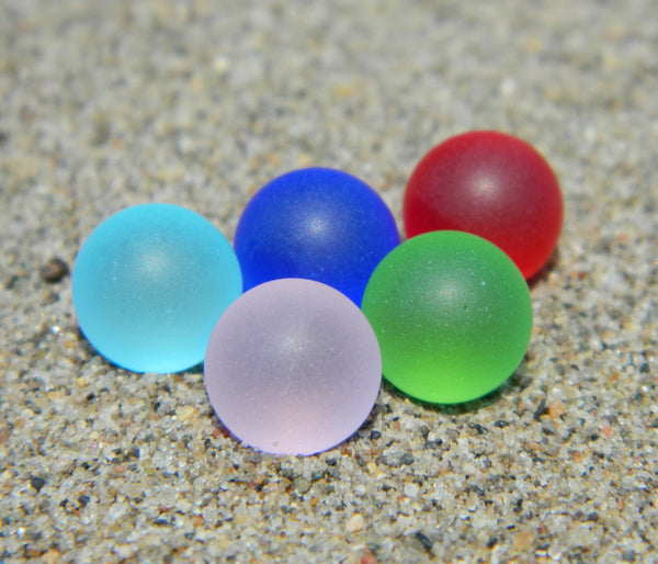 10mm 5 SeaGlass Stones