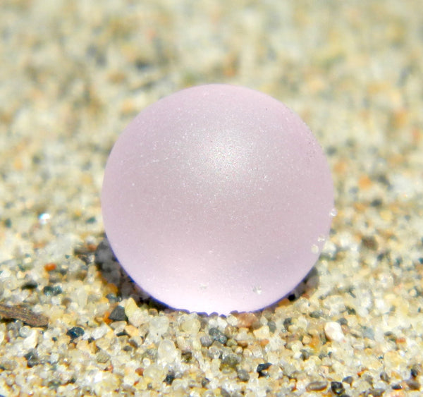 10mm SeaGlass Pink