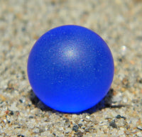 8mm SeaGlass Blue