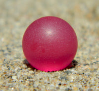 8mm SeaGlass Royal Fuchsia