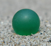 14mm SeaGlass Green