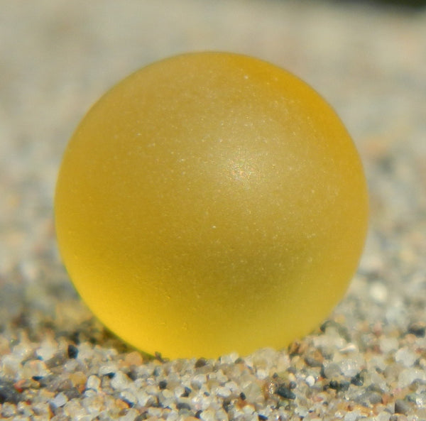 10mm SeaGlass Yellow
