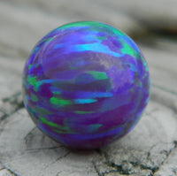 10mm Multi-Amethyst Opal