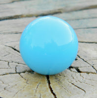 10mm Robin's Egg Blue Glass