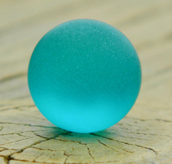 12mm Sea Glass Teal