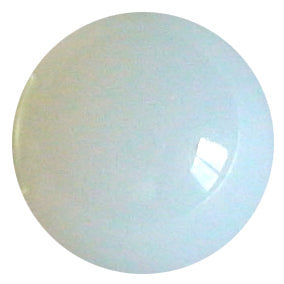 10mm White Opaque