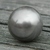 12mm Grey Syn. Pearl