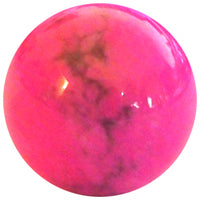 16mm Hot Pink Howlite