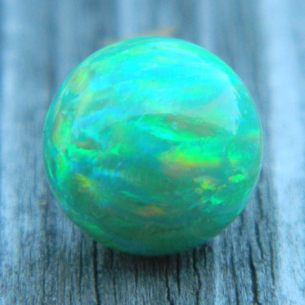 8mm Lt Green Opal