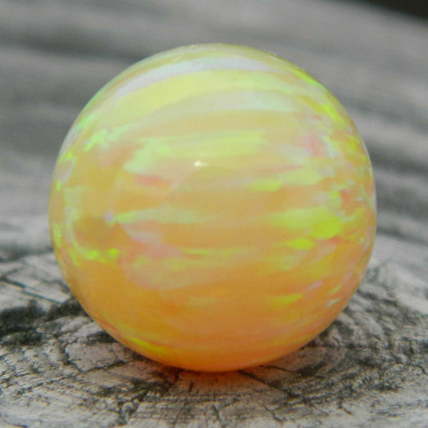 12mm Lt Yellow Opal