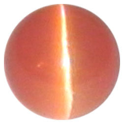 8mm Orange Cateye