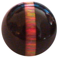 12mm Red Striped Opal