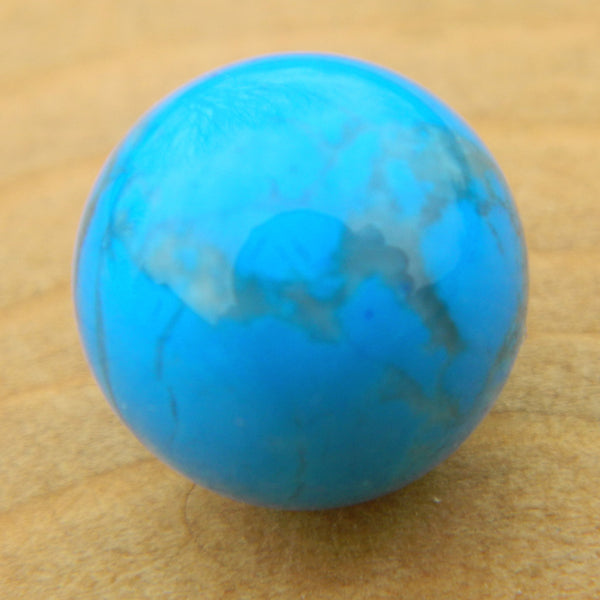 8mm Turquoise Howlite