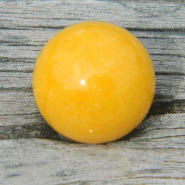 8mm Yellow Jade