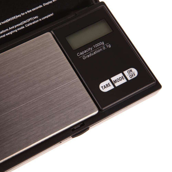 Mini Precision Digital Scale 1000g x 0.1g - Research Chem - Order RC Mini Precision Digital Scale 1000g x 0.1g online