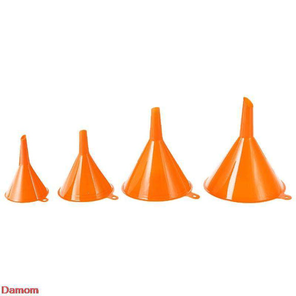 Set of 4 plastic funnels - Research Chem - Order RC Set of 4 plastic funnels online