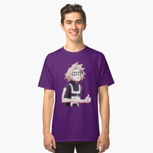Load image into Gallery viewer, My Hero Academia Kaminari Denki Baka Classic T-Shirt Purple 3Xl