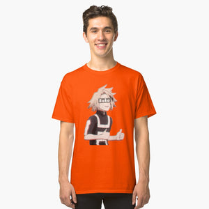 My Hero Academia Kaminari Denki Baka Classic T-Shirt Orange 3Xl
