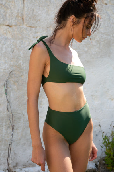 ELBA BOTTOM - OLIVE