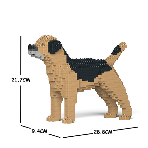 JEKCA Animal Building Blocks Kit for Kidults Border Terrier 01S-M01