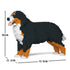 JEKCA Animal Building Blocks Kit for Kidults Bernese Mountain Dog 02C