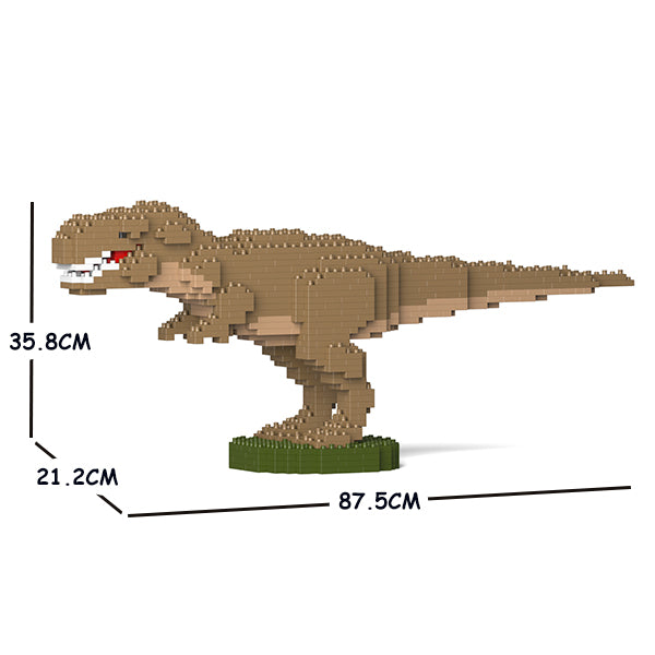 JEKCA Animal Building Blocks Kit for Kidults T-Rex 01C-M02