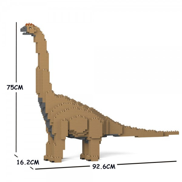 JEKCA Animal Building Blocks Kit for Kidults Brachiosaurus 01C-M01