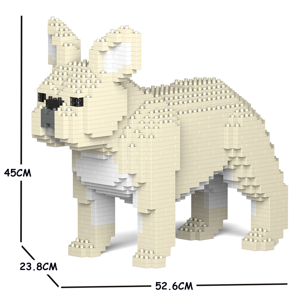 JEKCA Animal Building Blocks Kit for Kidults French Bulldog 02C-M02