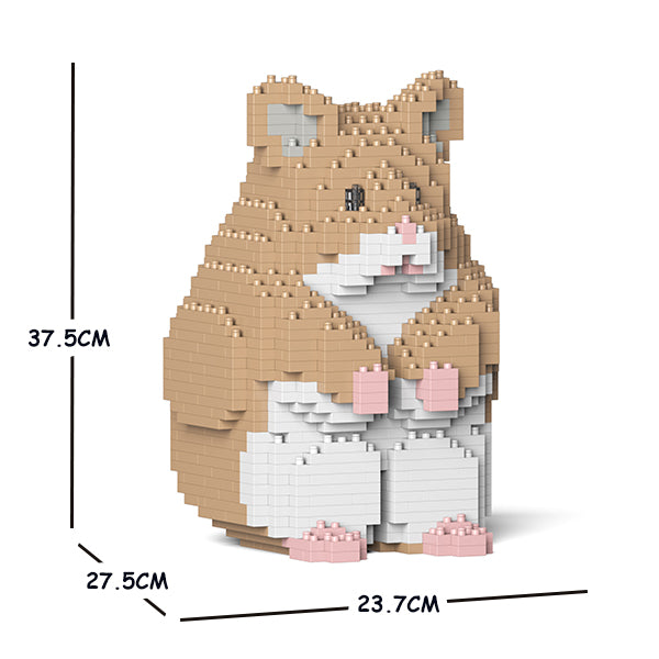 JEKCA Animal Building Blocks Kit for Kidults Hamster 01C-M01