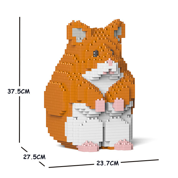 JEKCA Animal Building Blocks Kit for Kidults Hamster 01C-M03
