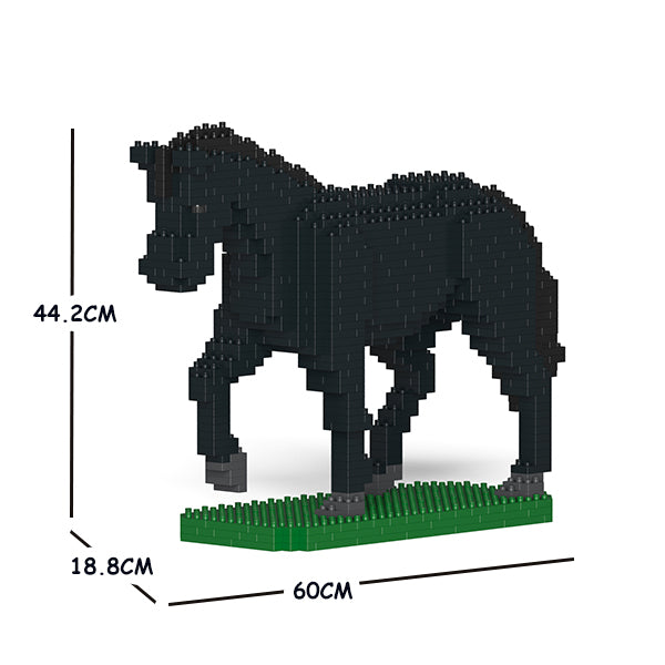 JEKCA Animal Building Blocks Kit for Kidults Horse 02C-M03