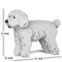 JEKCA Animal Building Blocks Kit for Kidults Toy Poodle 01C-M01