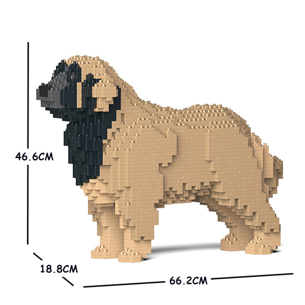 JEKCA Animal Building Blocks Kit for Kidults Leonberger 01C-M02
